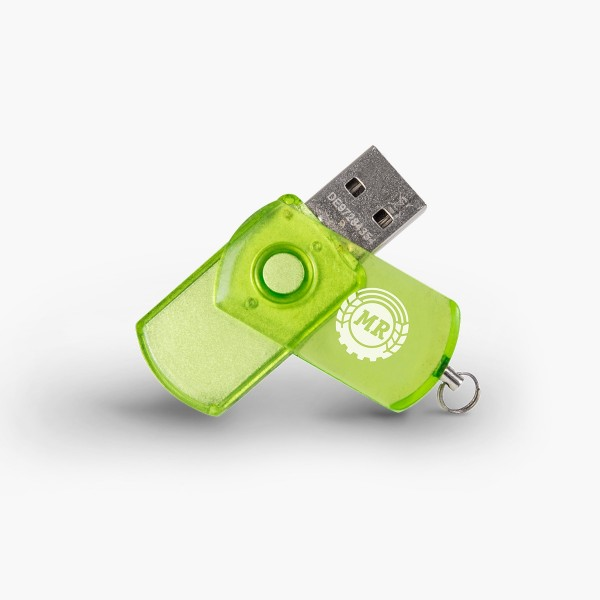 USB Stick grün MR Logo 8 GB